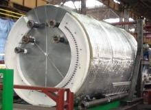 Komplexní řešení silové části pro pyrolytickou pec